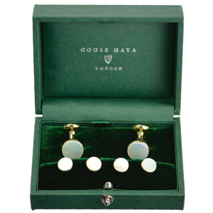Gold Mother of Pearl Formal Set