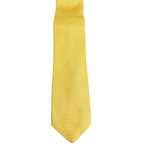 Yellow Gold Garza Grossa Grenadine Tie