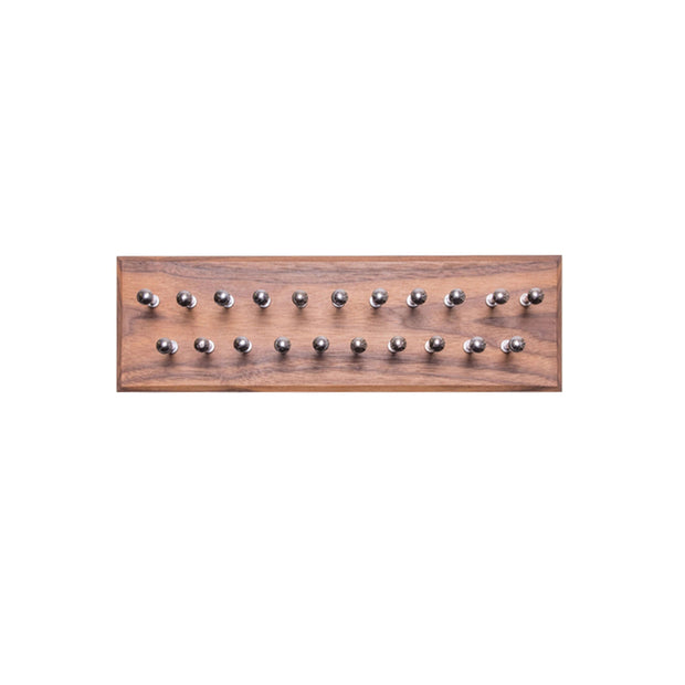 Walnut Tie Rack - Small