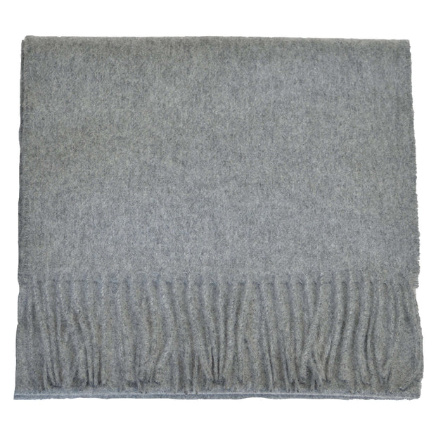 Grey Granite Cashmere Scarf