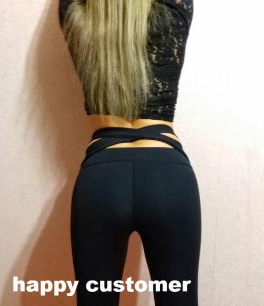 Sexy  High Waist Yoga Workout Fitness Sports Leggings