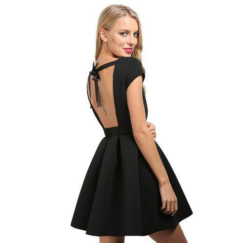 Backless Elegant Bandage Party Summer Dress
