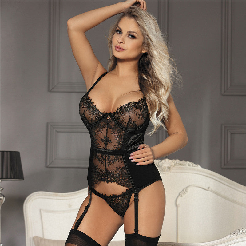 Exotic Apparel Sexy Babydoll With Garter