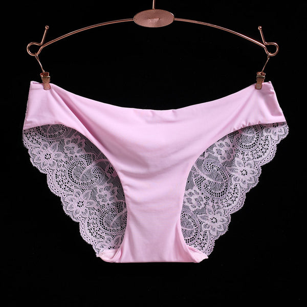 Beautiful Floral Design Seamless Panties