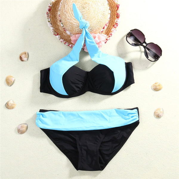 Amazing Triangle Push-Up Luxury Bikini Set - Various Colors