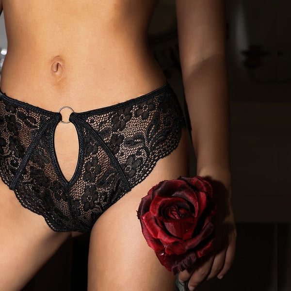 Sexy Amazing Women Lingerie G String Lace Hollow Out Underwear