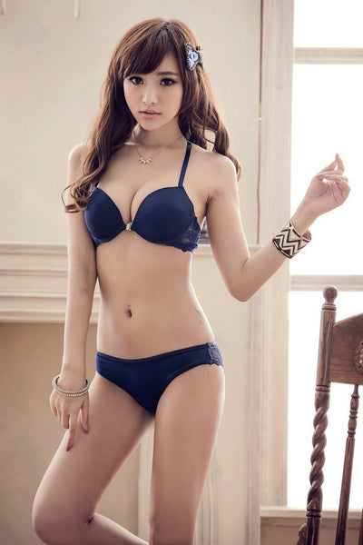 Luxurious Elegance Bra And Panty Set Y-line Underwear Set