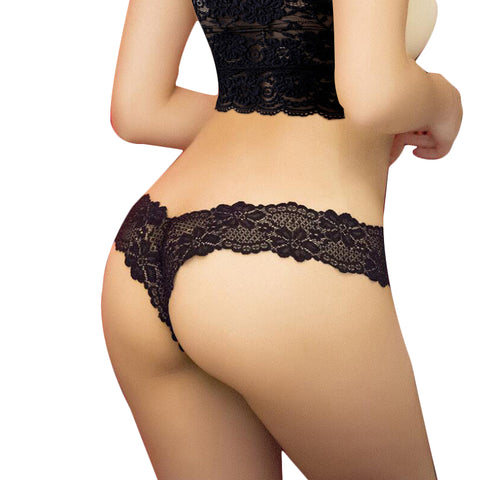 Sexy G-String Lace Transprent Low Waist Thong