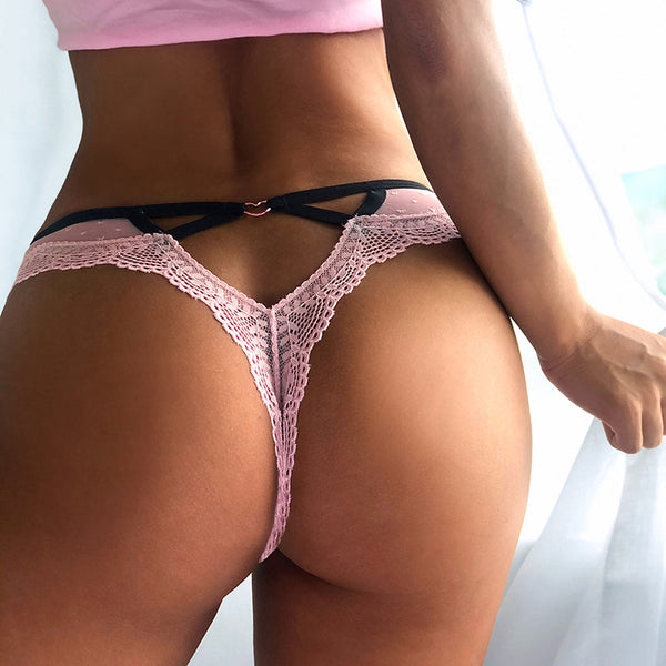 Sexy String Transparent Thong Seamless Panties