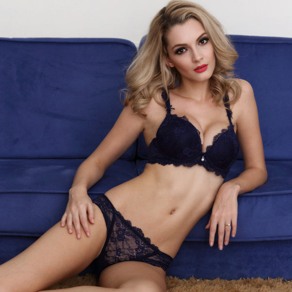 New  Sexy Europe Lace Bra Set underwear sets - A B C Cup