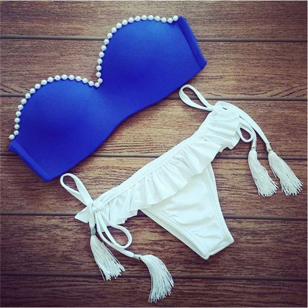 Brazilian Low Waist Sexy Push Up Bikini Sets Swimwear