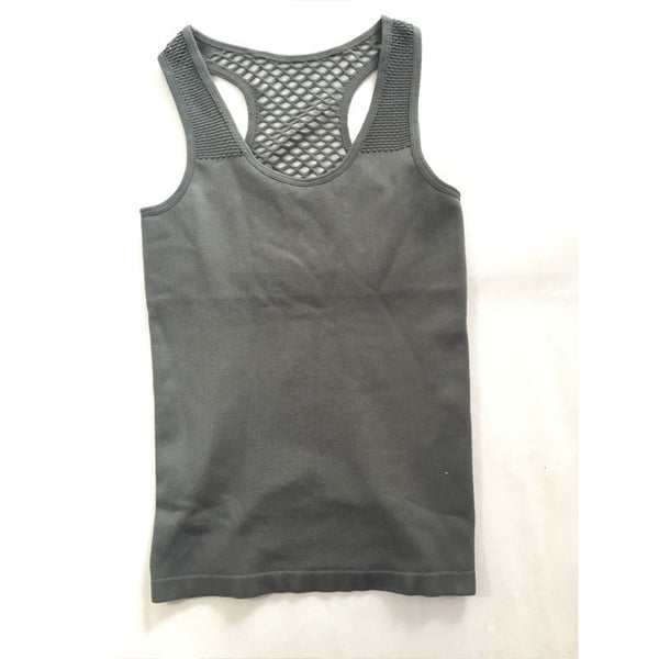 Sexy Womens Fitness Sport Hollow Back  Tank Tops