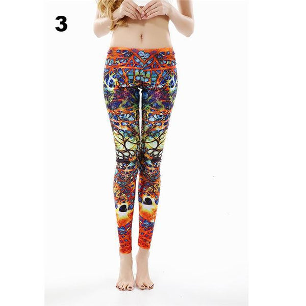 Sexy Autumn Printed Leggings