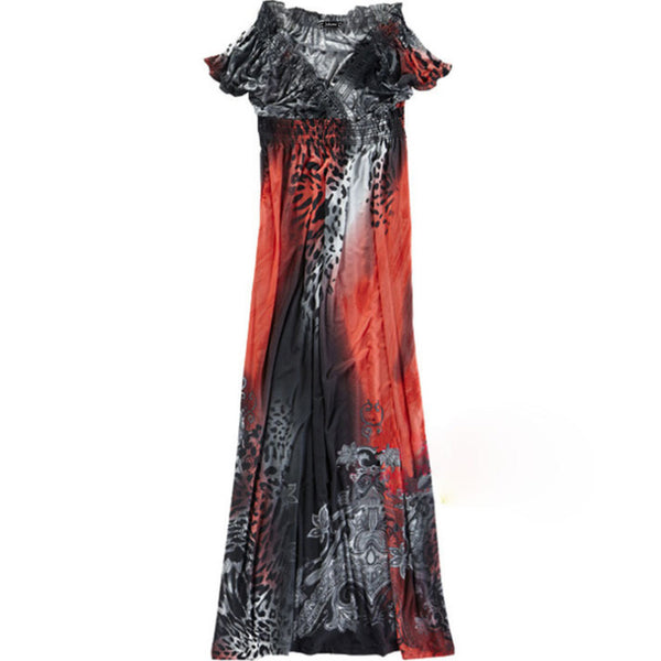2019 Sexy Maxi Long Summer Dress (Plus Size)