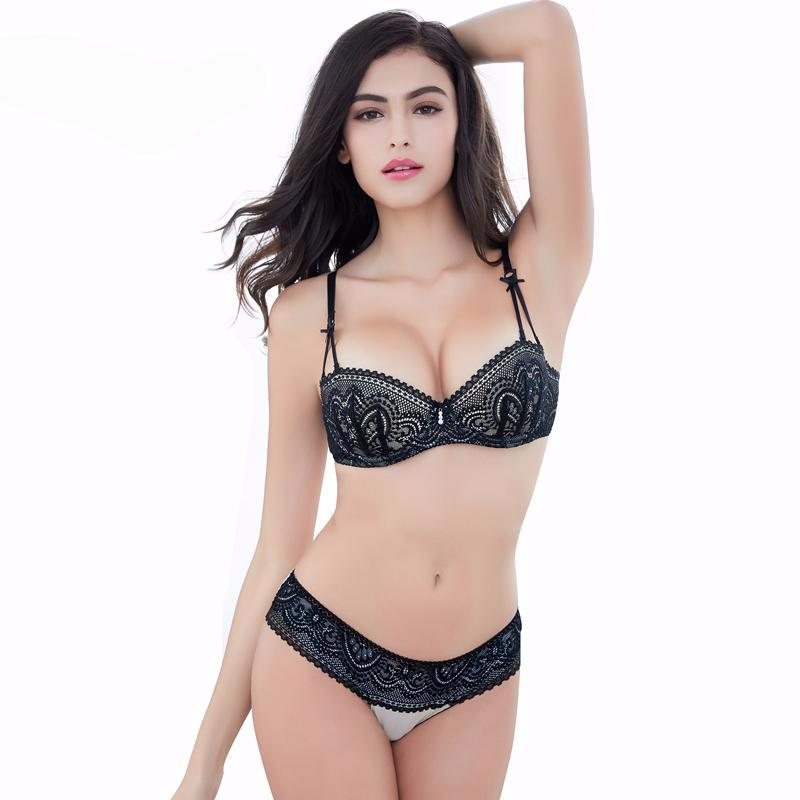 bb9b2b48d88 Sexy Half Cup Ultra - Thin Lace Bra Sets – Accessories Madness