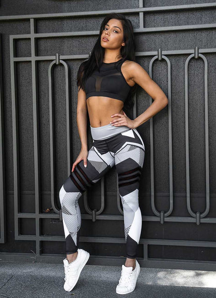 High Elastic Push Up Fitness Leggings