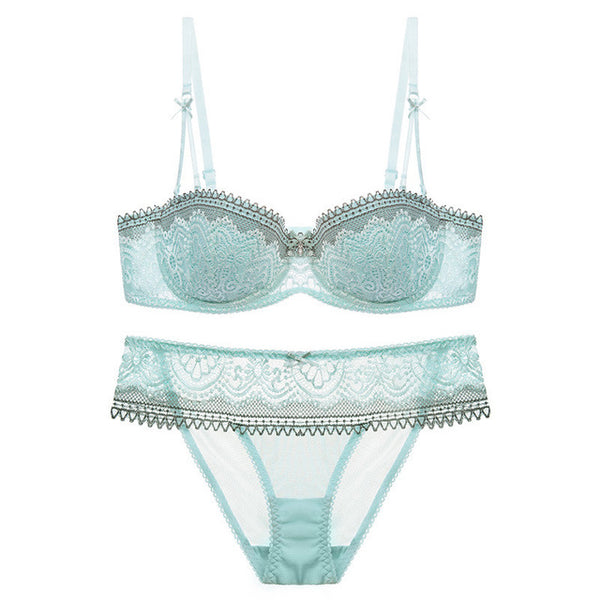 Varsbaby Half Cup Ultra - Thin Lace Sexy Bras