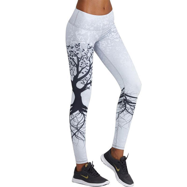 3D Tree Print Amazing Leggings