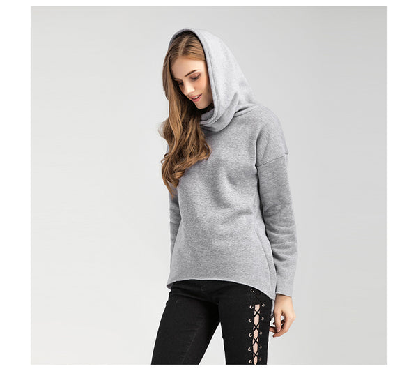 New Arrival!!!Christmas Clothes Winter Hoodies Scarf Collar Long Sleeve