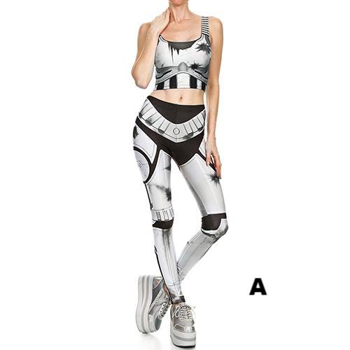 High- Quality Steampunk Comic Cosplay Leggings Set