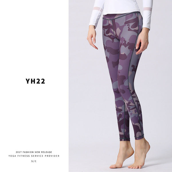 Yoga/Workout Printed Leggings