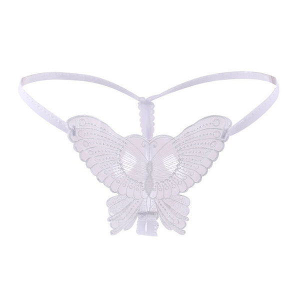 Cute & Sexy Lace Butterfly Micro Thong Panties Underwear