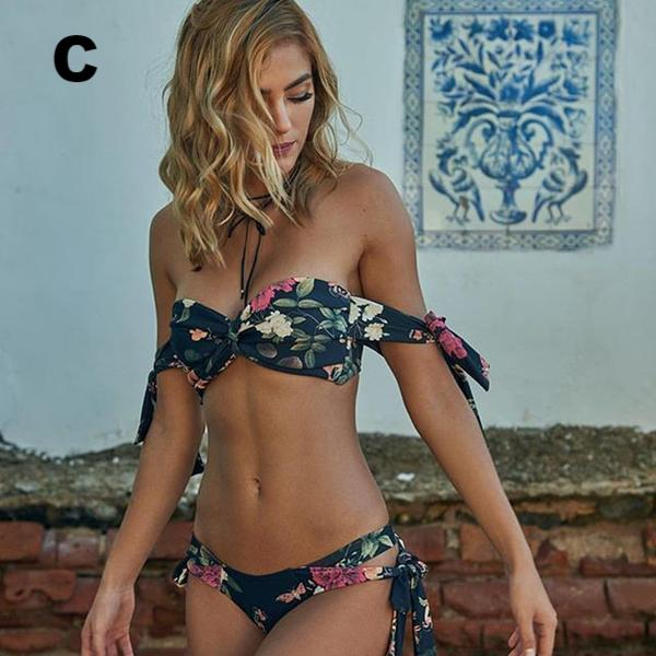 Hot & Sexy Floral Bikini Set