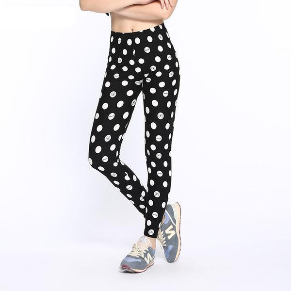 Fashionable High Waist Stretch Elasticity Leggings