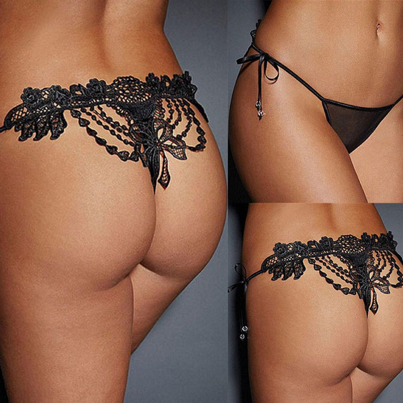 Sexy Lace Ladies Underwear Thong And G String