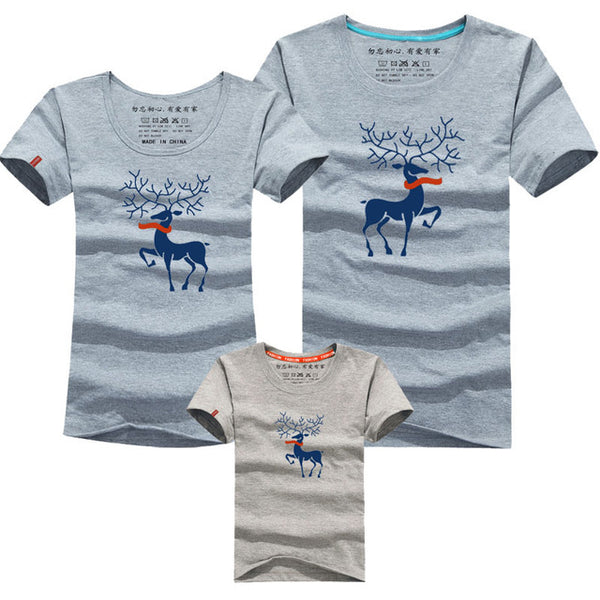 Christmas Family Matching Deer T-Shirt
