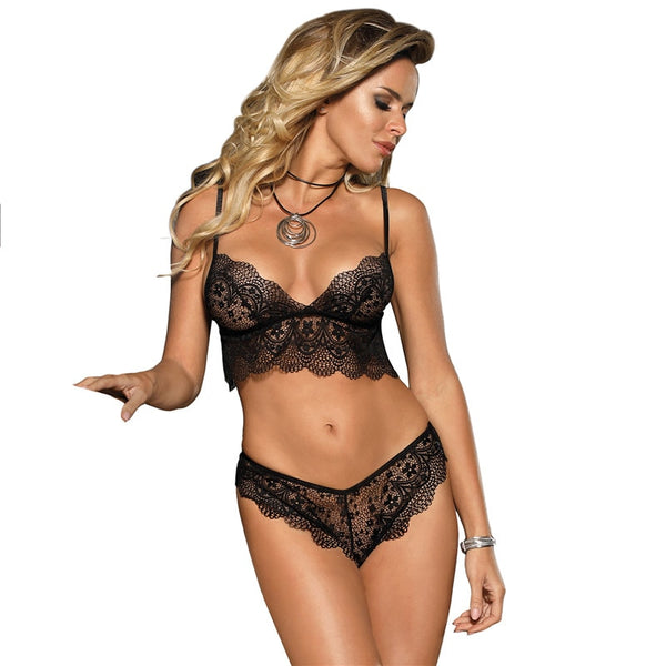 Sexy Lace Bralette Erotic Underwear Sets