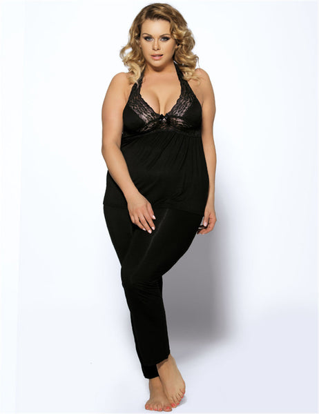 Women's Halter Sexy Nightgown
