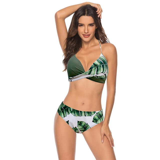 2019 Brazilian Bikini Set Push Up Swimsuit  Plus Size XXXL