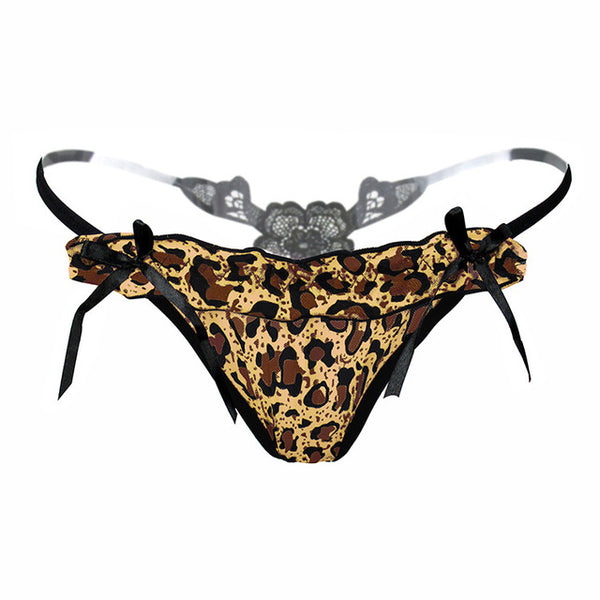 New Arrival! Sexy Leopard G String Tangas  Lingerie