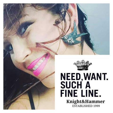 Knight&Hammer is must-have Earrings this Autumn