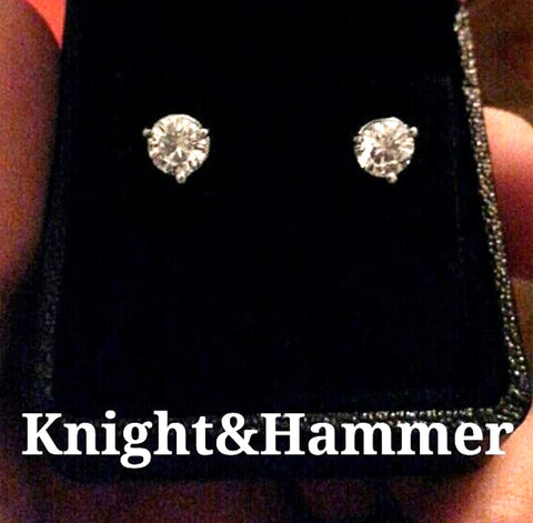 DIAMONDS ARE EVERYONE'S FRIEND! Magnificent 1.50cttw Diamond Studs