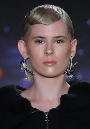 New York Fashion Week 2019  Knight&Hammer Hummingbird earrings Limited Edition