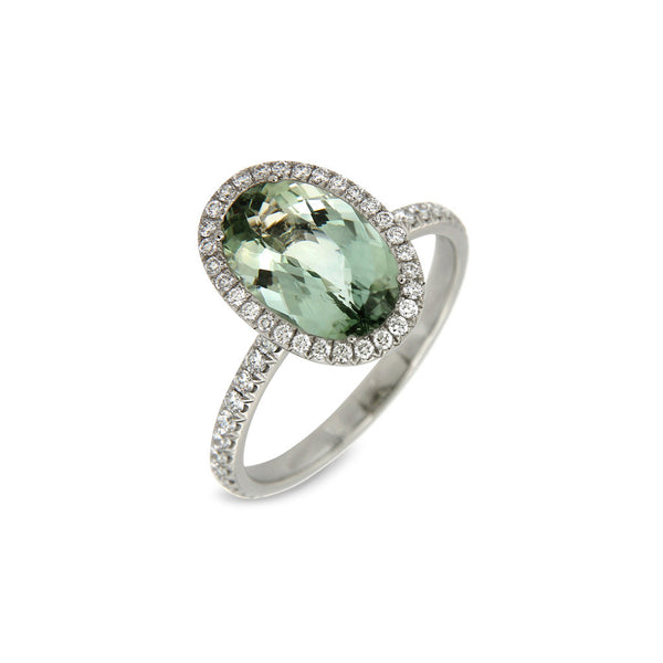Ring Mint Green Tourmaline