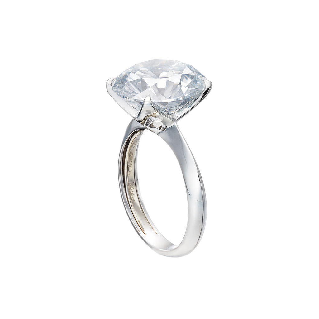 Ring Brilliant Cut Diamond D/VS2 5.12