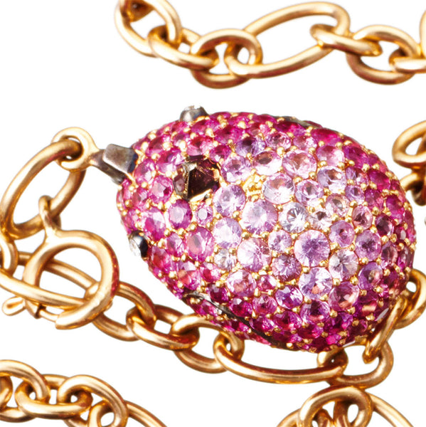 Pendant Pink Sapphires
