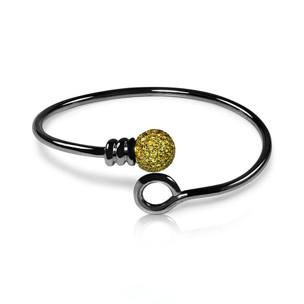 Bangle Yellow Diamonds