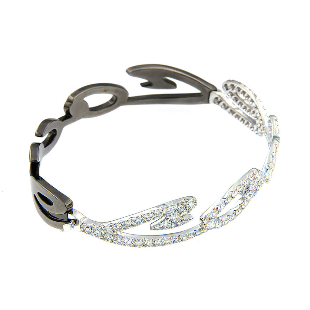 Bangle White Diamonds