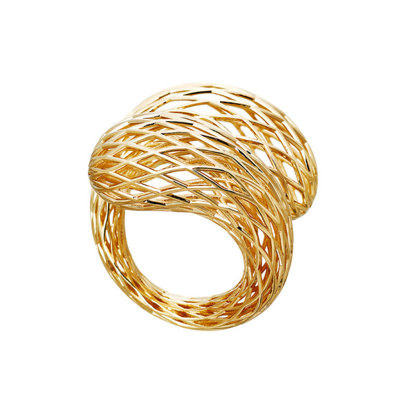 AENEA NEZZI Collection Ring Yellow Gold