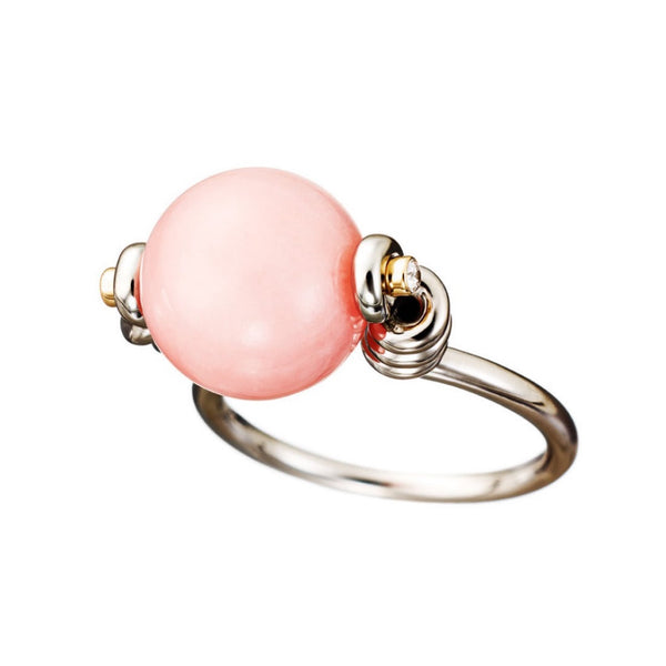 Ring Pink Opal
