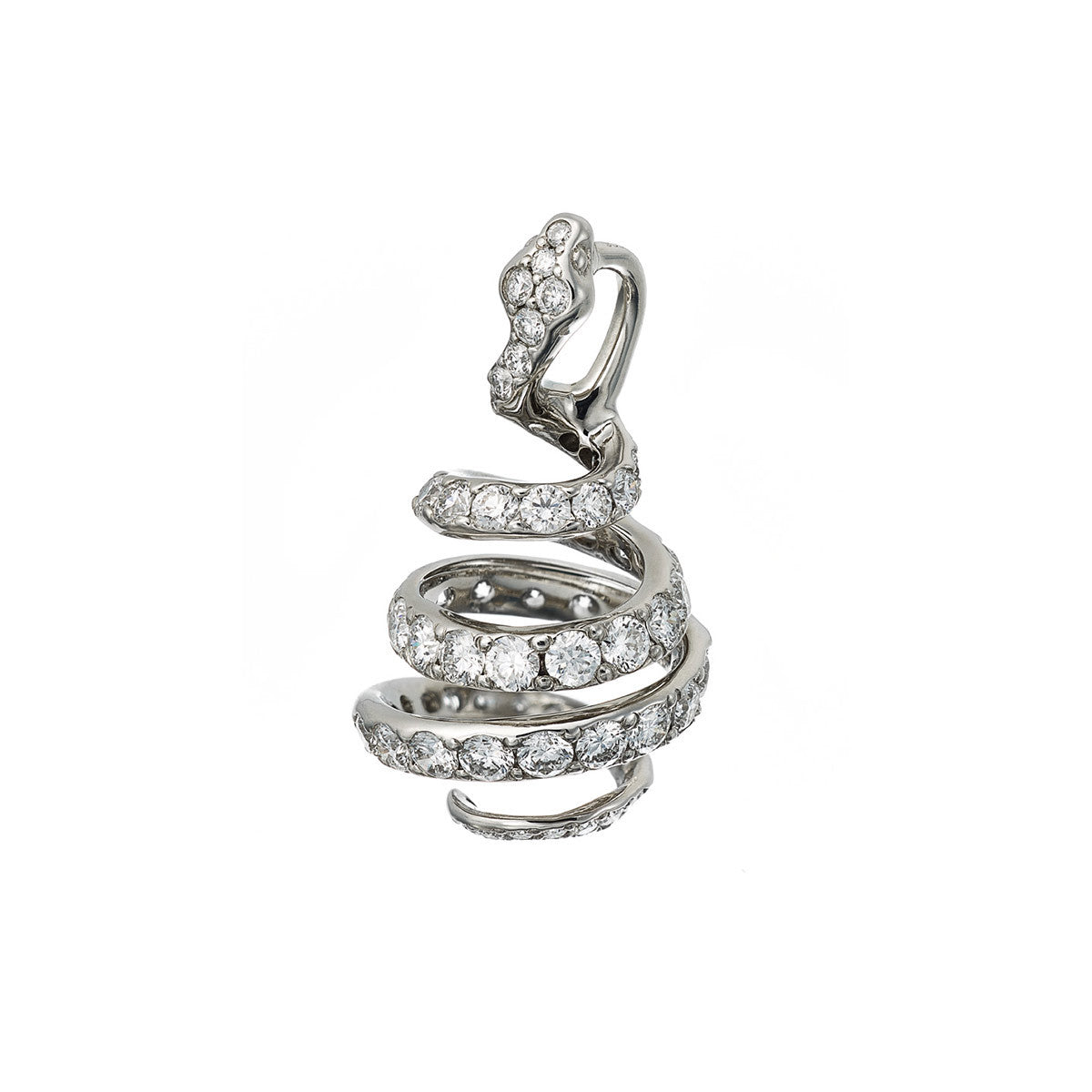 Pendant Snake Diamonds
