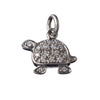 AENEA CHARM COLLECTION Pendant Turtle Platinum / Rose Gold or Yellow Gold with White Diamonds