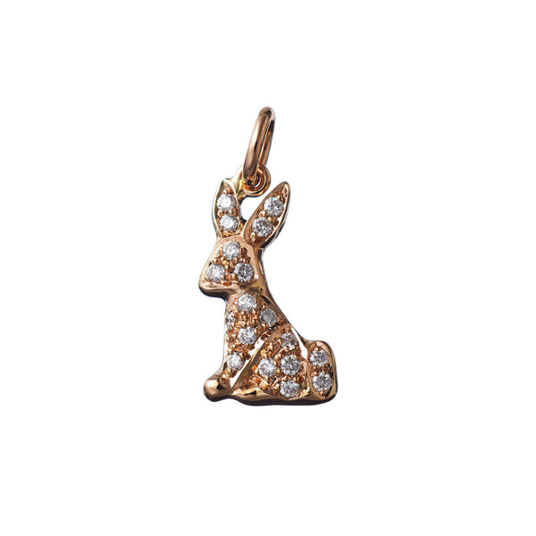 AENEA CHARMS COLLECTION Pendant Rose Gold, Sterling Silver and White Diamonds