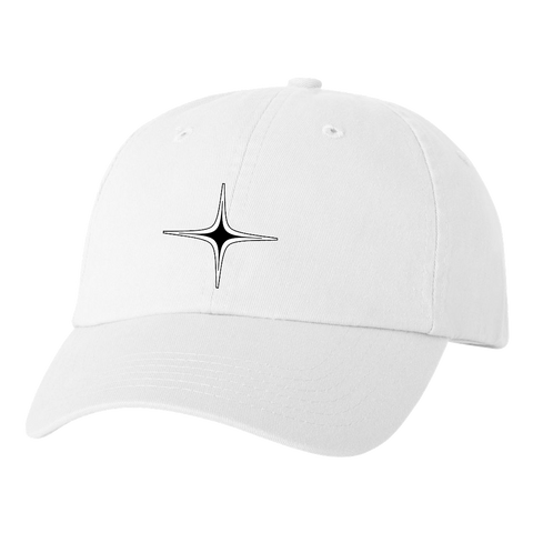 NOVA Star Hat - White