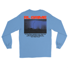 Thunderstorm Longsleeve - Light Blue