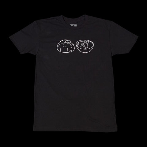 Split World Tee - Black